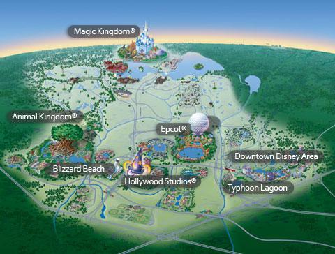 Disney World's Map