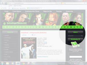 Caixa de busca do site baixalogofilmes.net