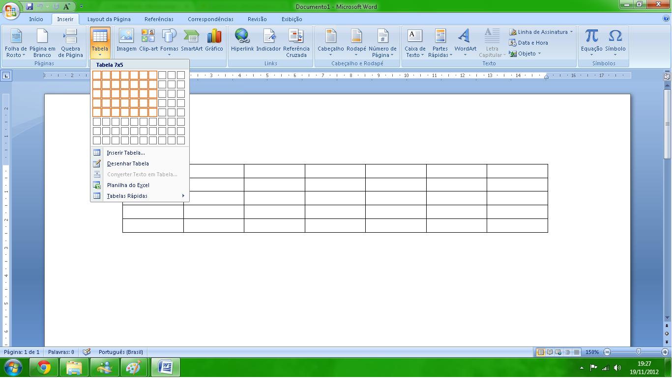 Como Criar Tabelas No Word Blog De Inform 225 Tica Cursos
