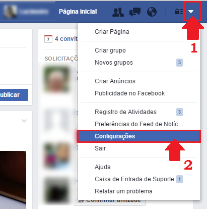 conta facebook